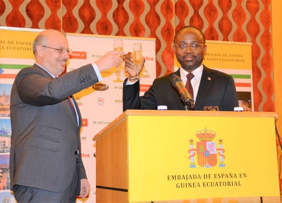 Celebración del Día Nacional en la Embajada de Malabo