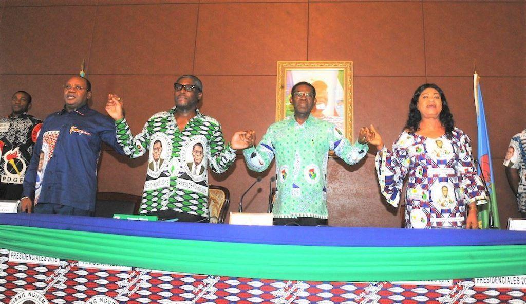 El Presidente Fundador del PDGE se reúne con la coordinación de la campaña en Bioko y Annobón