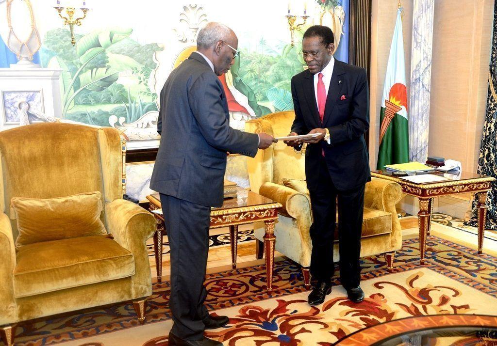 El Presidente concede audiencia a Assaid Gamar Silek, Enviado Especial del Presidente de Chad