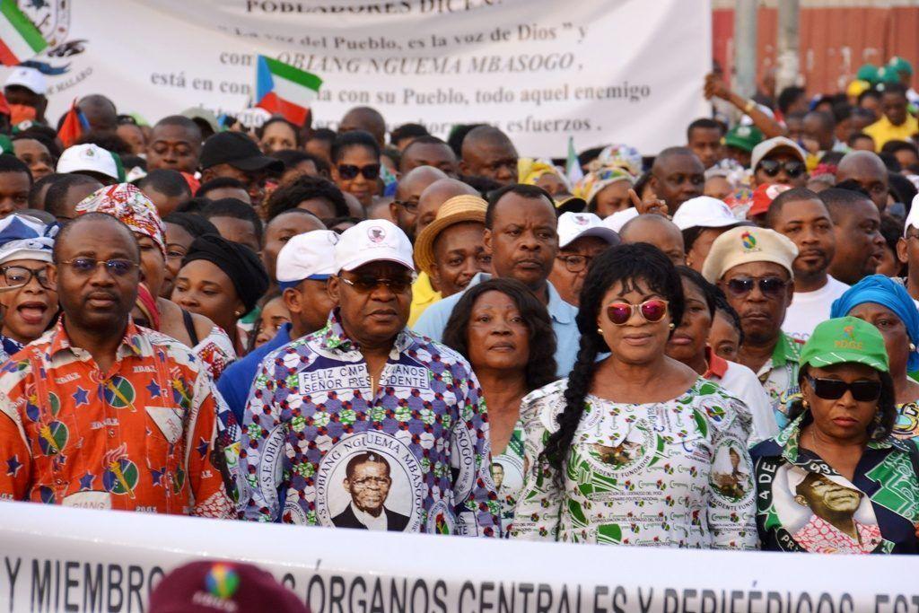 Guinea Ecuatorial se echa a la calle para protestar contra el nuevo intento de asalto mercenario