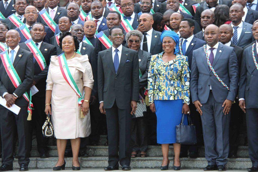 Sesión de apertura en el Parlamento Nacional