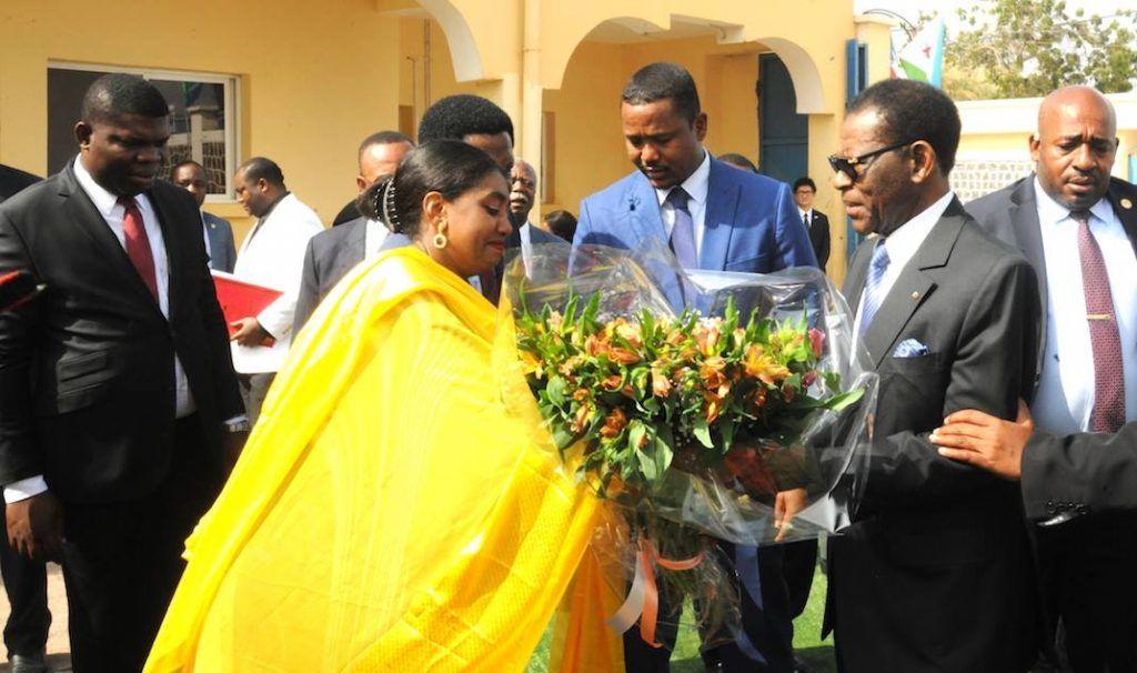 Cálida despedida al Jefe del Estado al finalizar su viaje oficial a Djibouti