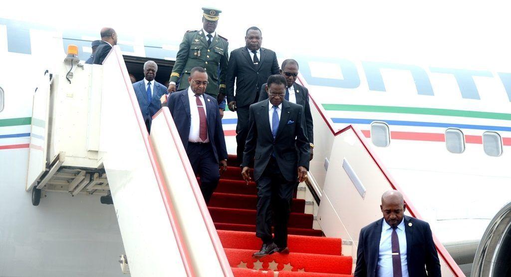 El Presidente de la República regresa de Djibouti