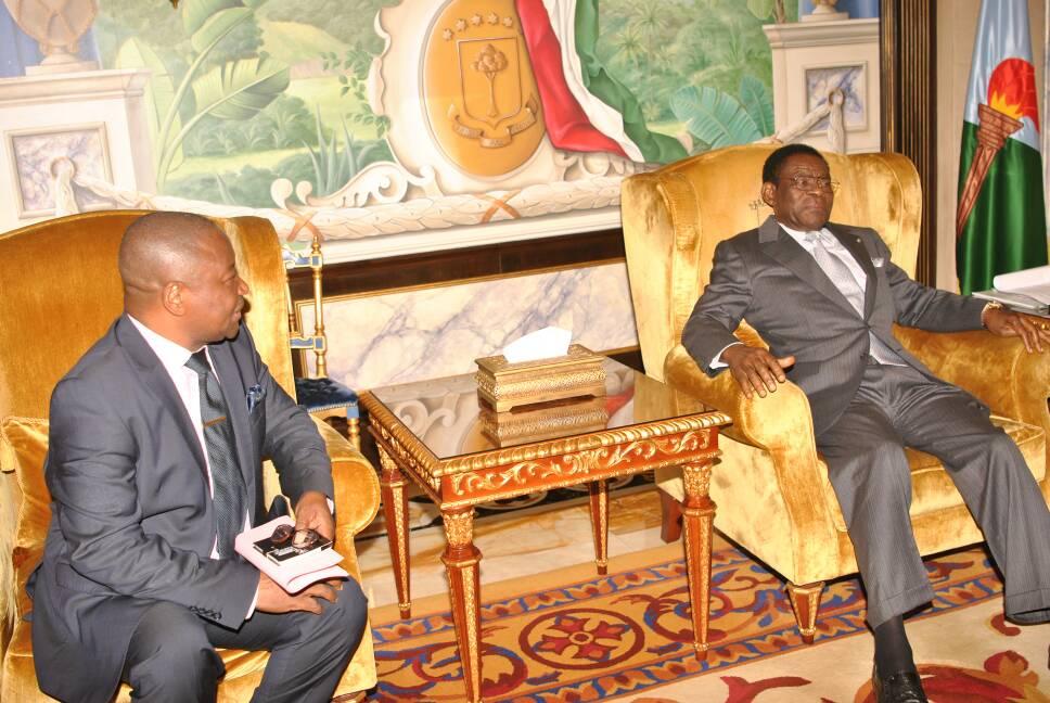 Audiencia del Jefe de Estado con el Secretario General de la Federación Internacional de los Derechos Humanos