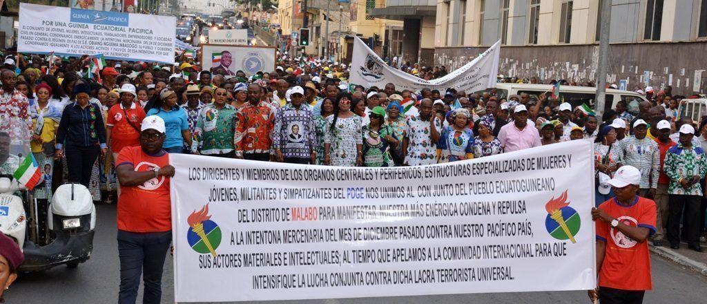 Convocatoria a favor de la paz en Guinea Ecuatorial