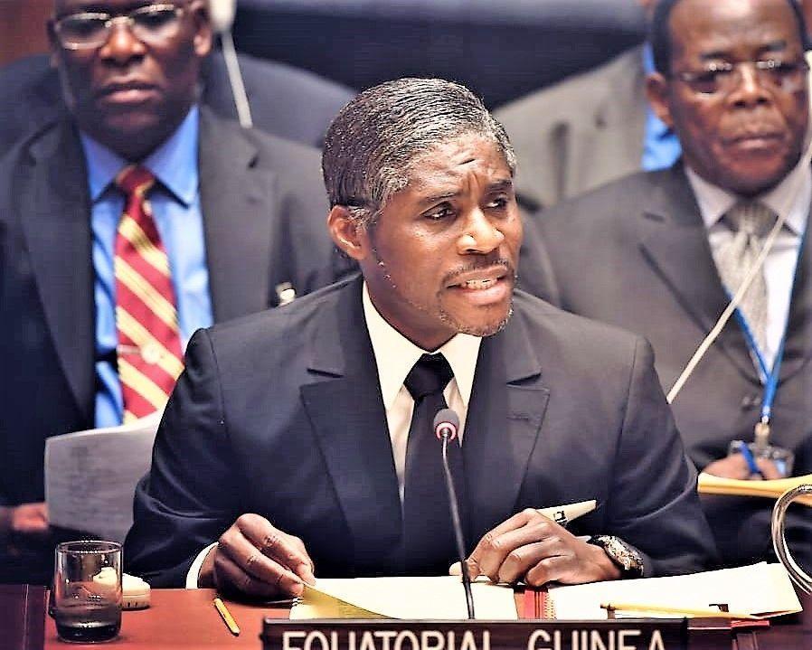 El Vicepresidente de Guinea Ecuatorial participa en el debate del Consejo de Seguridad  de Naciones Unidas