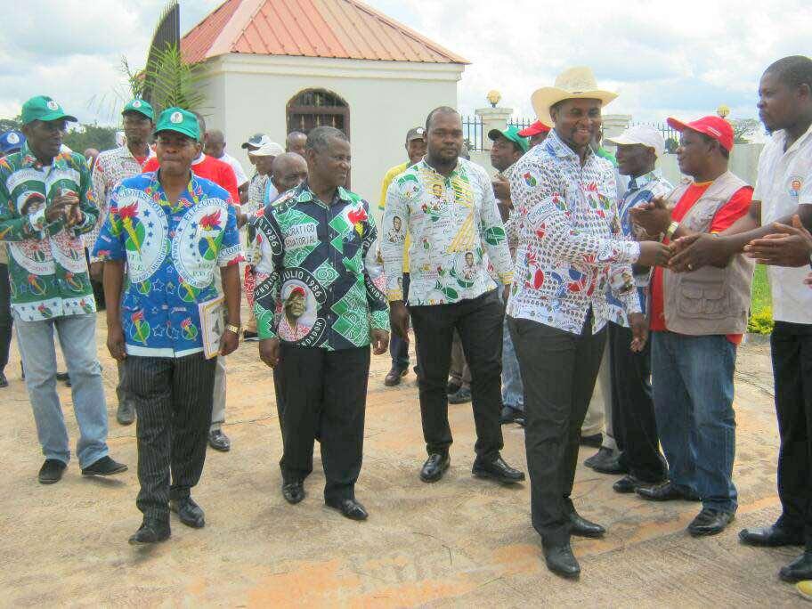 Continúa la gira del Consejo Distrital del PDGE en Mongomo