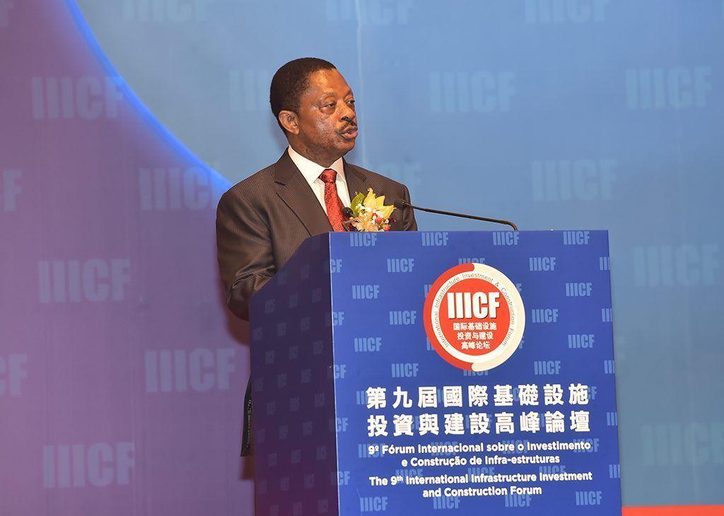 Obama Asue interviene en el Foro de Inversión y Construcción de Infraestructuras de Macao
