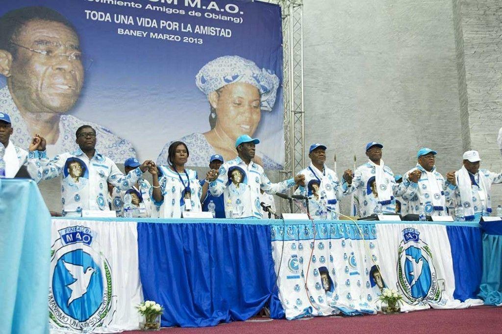Celebración del VII Fórum del Movimiento de Amigos de Obiang