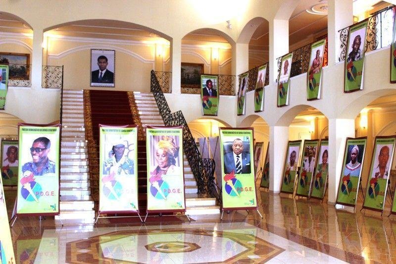Exposición de los Dirigentes Históricos del PDGE