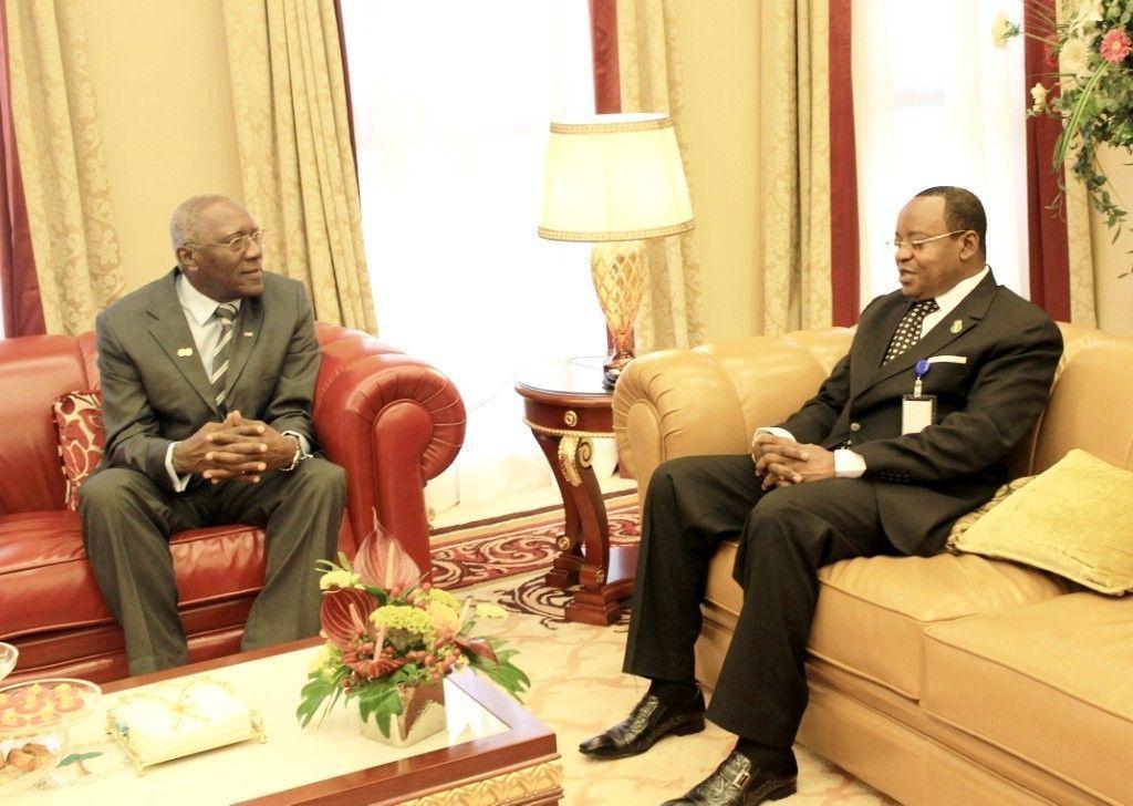 Osa Osa Ecoro se reúne con el Vicepresidente de Cuba