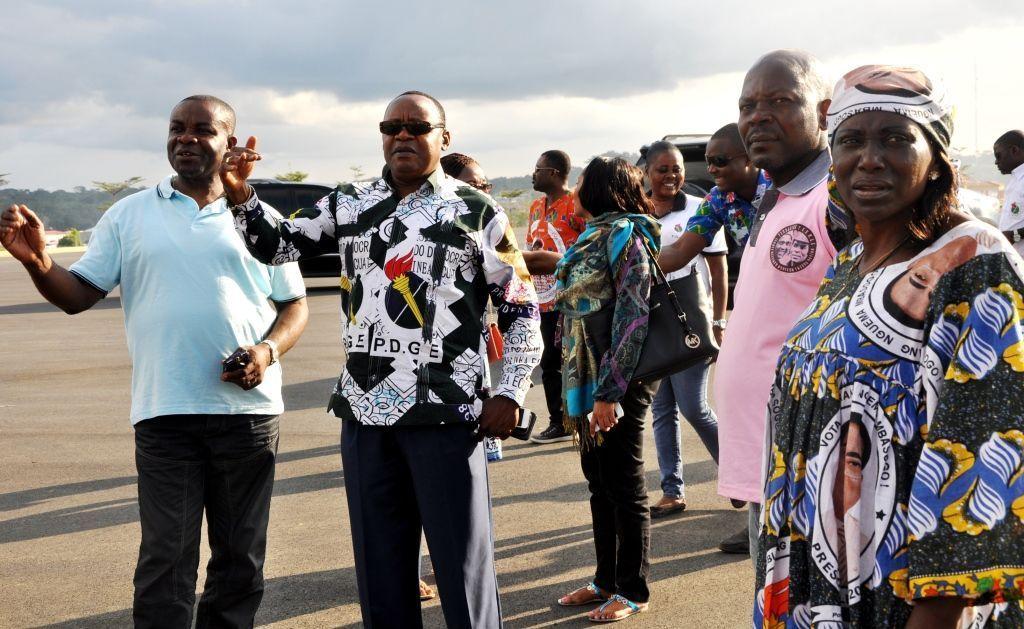 El Secretario General, en la celebración de la fiesta patronal de Akonibe