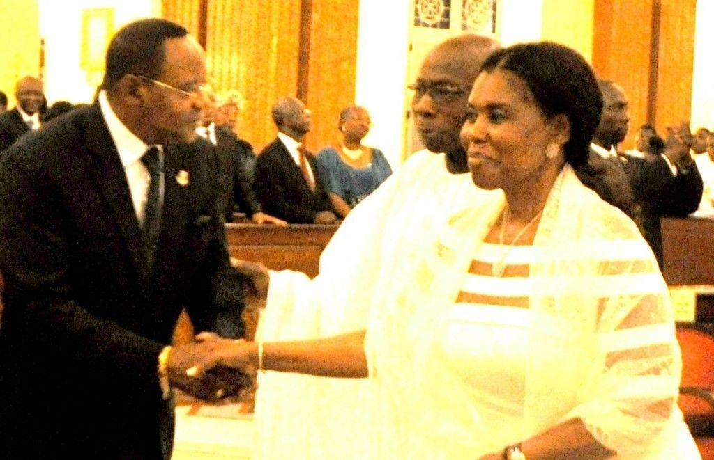 Osa Osa trasmite las felicitaciones de todo el partido a la Presidenta Nacional Honorífica