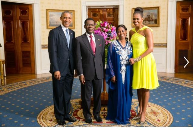 Encuentro Obiang Obama en la Casa Blanca