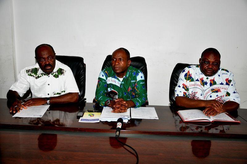 Encuentros de las comisiones de Cogo y Mbini