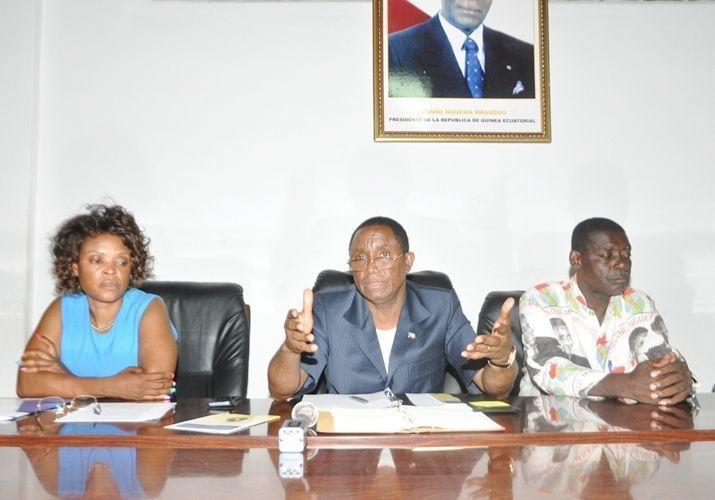 Se reúne el Consejo Distrital de Nsork Mbatung