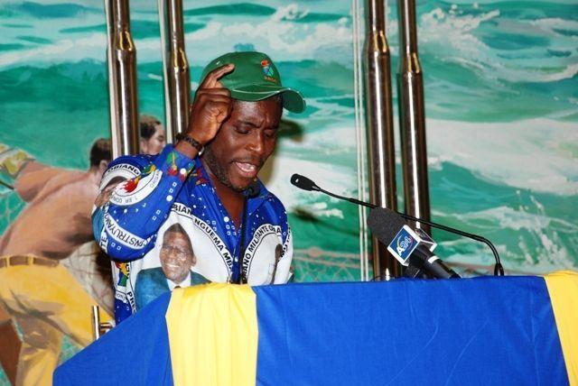 Nguema Obiang Mangue honra a los soldados de la misión de República Centroafricana