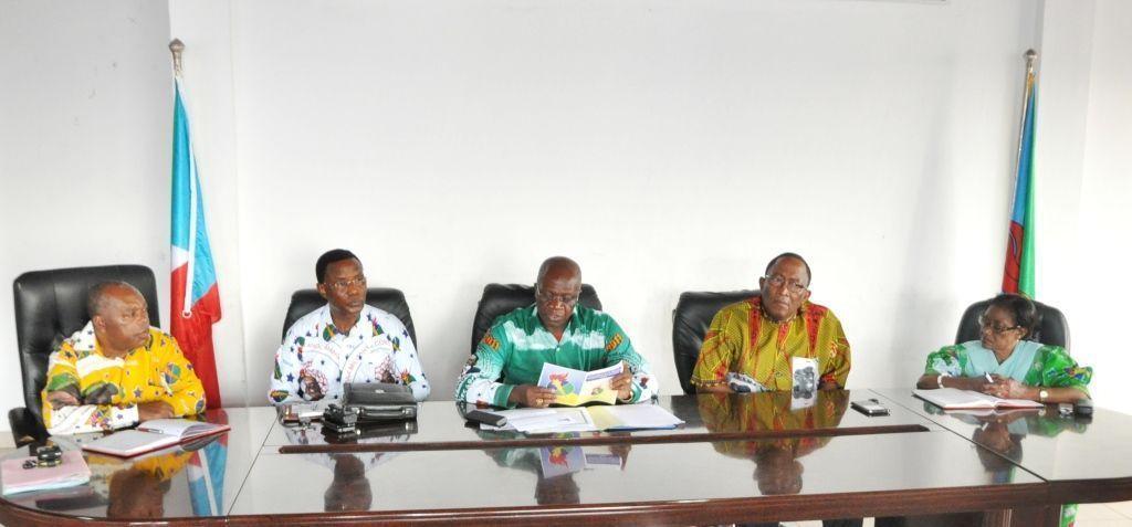 La Comisión de Seguimiento de Añisok se reúne en Bata