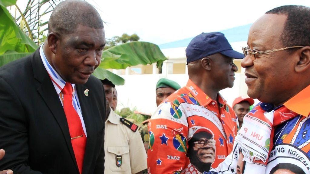 Despedida al Gobernador de Mongomo