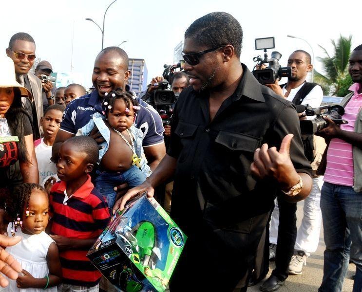 Mensaje de S. E. Teodoro Nguema Obiang Mangue a los niños de Costa de Marfil