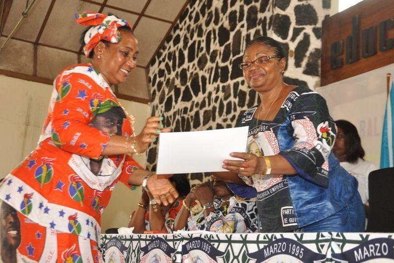 Se cierra en Bata el Seminario de Capacitación para mujeres
