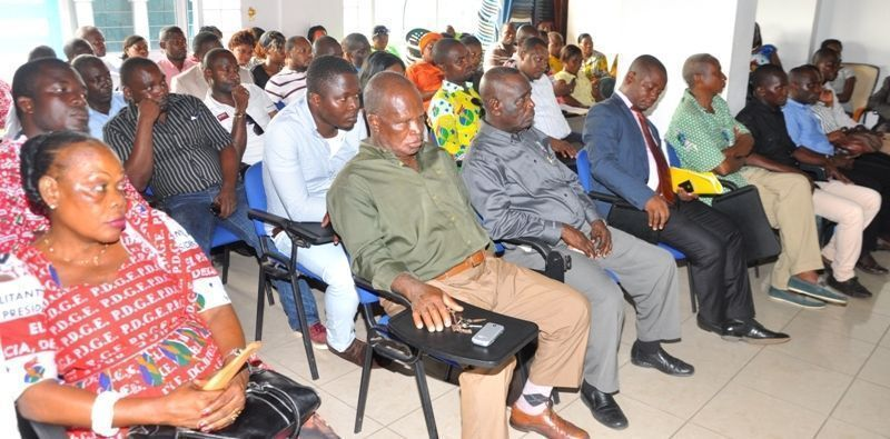 Encuentros de las comisiones de Mongomo y Mbini