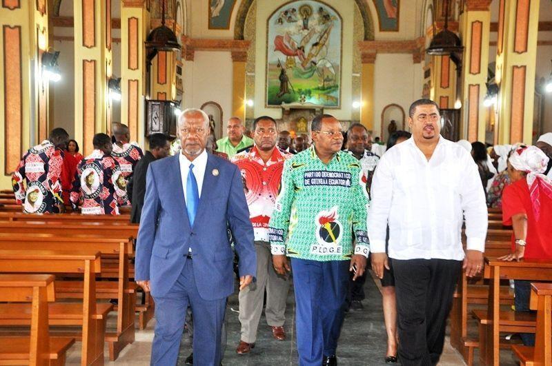 Misa de Acción de Gracias por el inicio de la Gira Presidencial