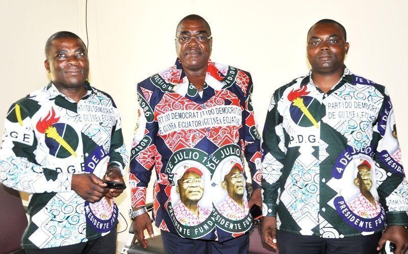 Nuevos cargos del partido en Bata