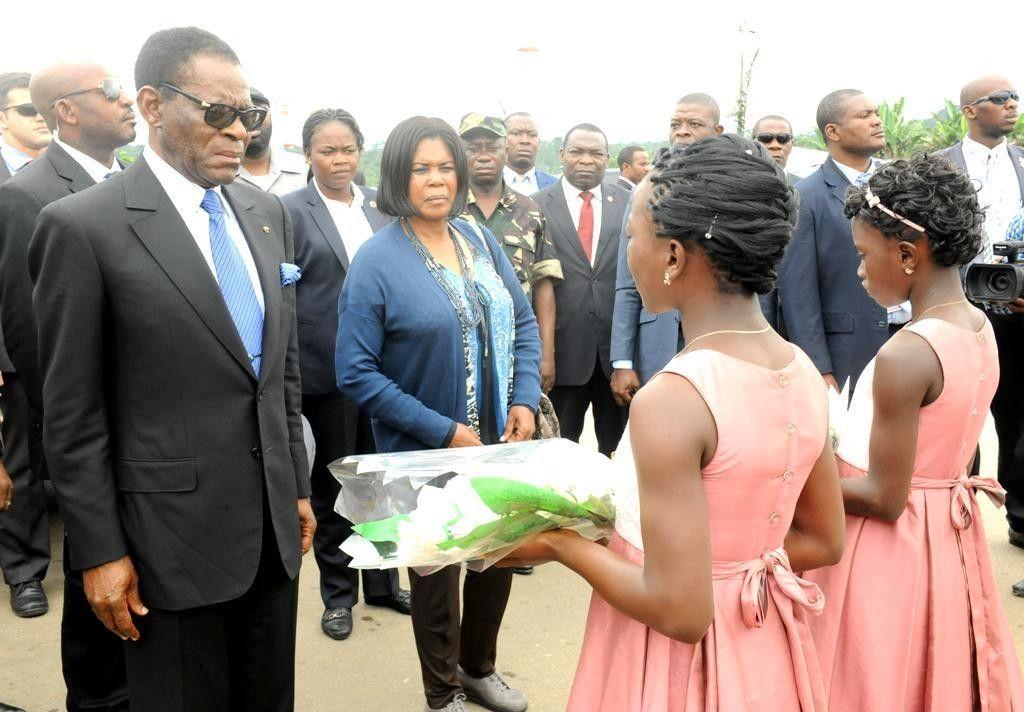 Acurenam y Aconibe reciben a la pareja presidencial