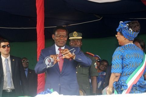 Malabo, última etapa de la gira presidencial en Bioko