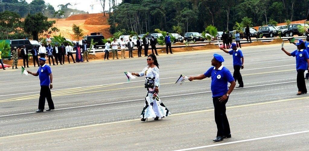 Brillante papel del PDGE en el Desfile Militar y Popular del 3 de Agosto