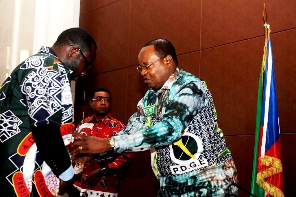 El Presidente Fundador con los responsables de las distintas estructuras