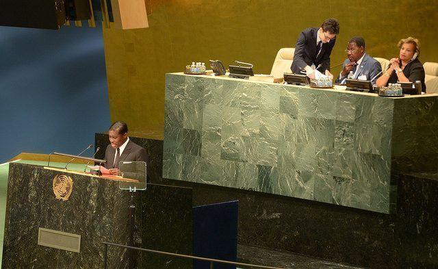 Nueva intervención del Vicepresidente Segundo ante la Asamblea General de la ONU