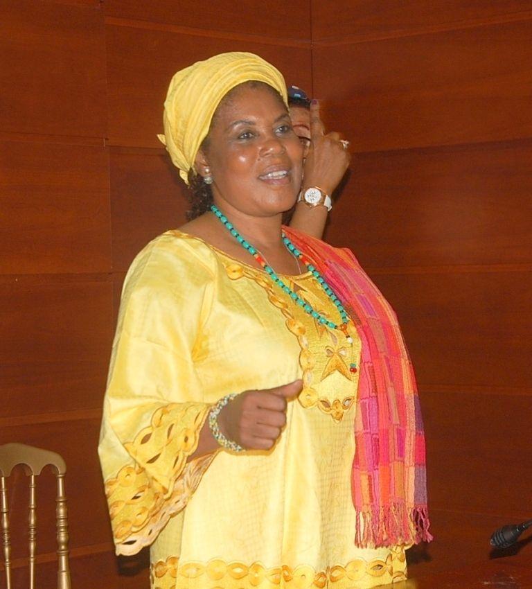 Actividades de la Primera Dama en pro de las mujeres de Malabo