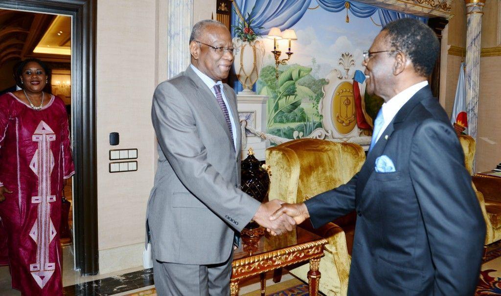 El Jefe de Estado recibe a la delegación del PNUD