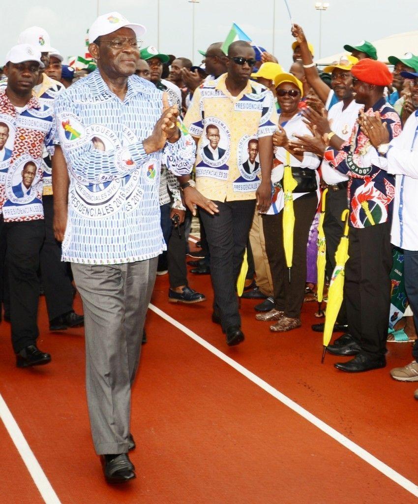Los primeros recuentos muestran la victoria del candidato del PDGE