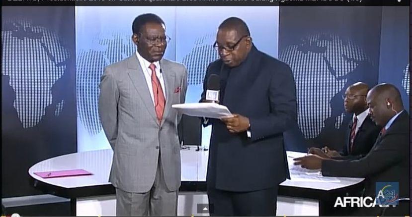 Entrevista con el Presidente en la cadena Afrique24