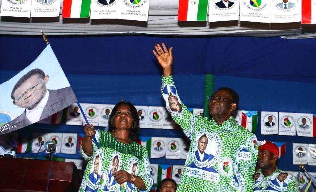 Discurso del triunfador de las Elecciones, Obiang Nguema Mbasogo