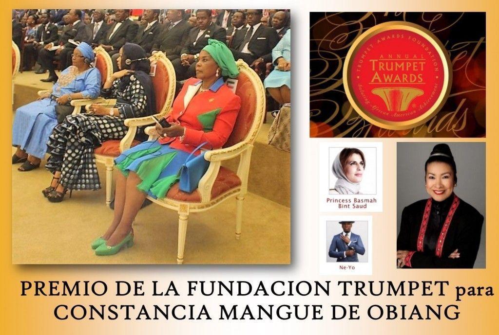 Constancia Mangue, galardonada con un premio de la Fundación Trumpet