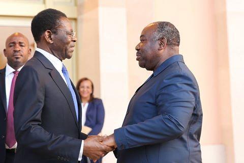 Viaje fugaz del Presidente a Gabón