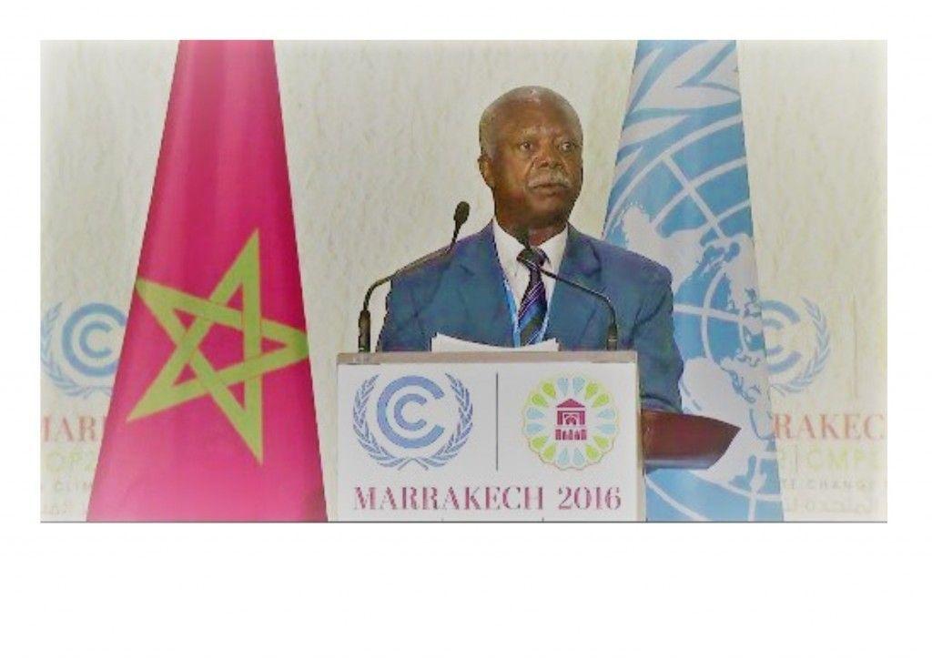 Discurso de Guinea Ecuatorial en COP22