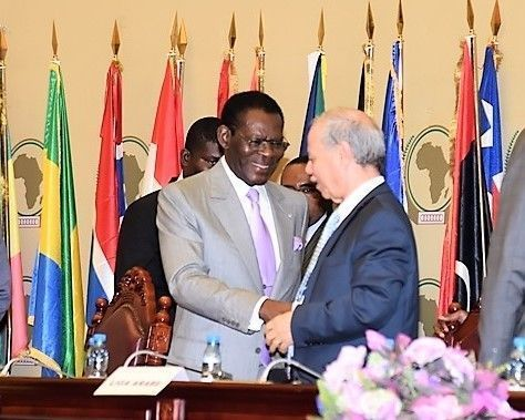 El Presidente expresa la aspiración de Guinea Ecuatorial de convertirse en el centro financiero de África