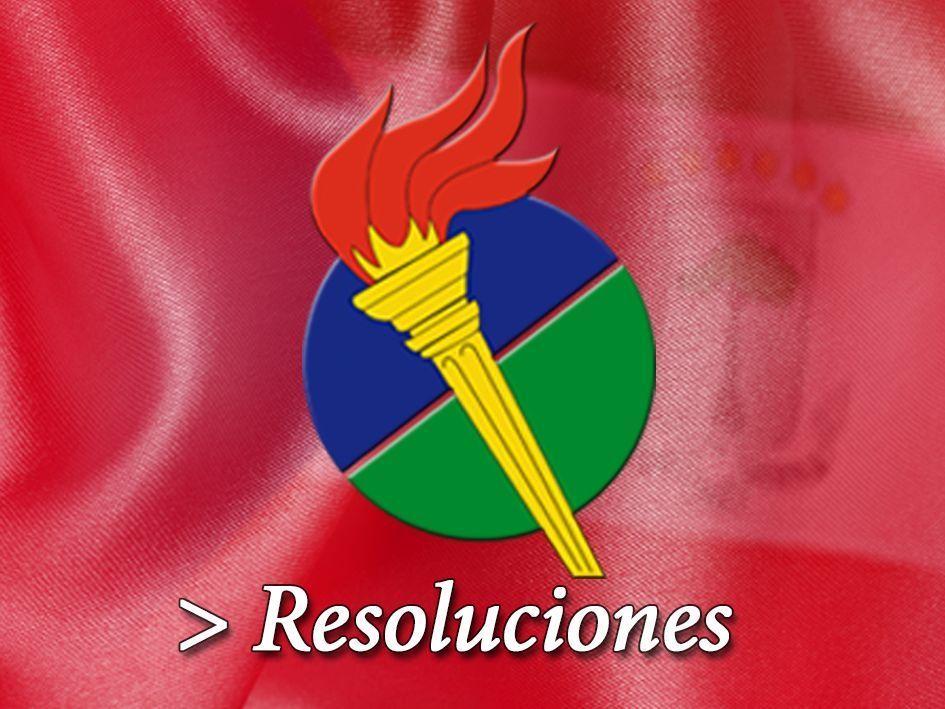 Resolución por la que se convoca el VI Congreso Nacional Ordinario del PDGE