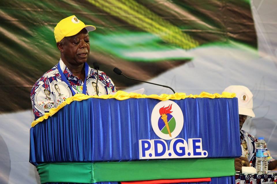 Alejandro Evuna Owono propone que el Presidente Fundador sea candidato para las próximas elecciones