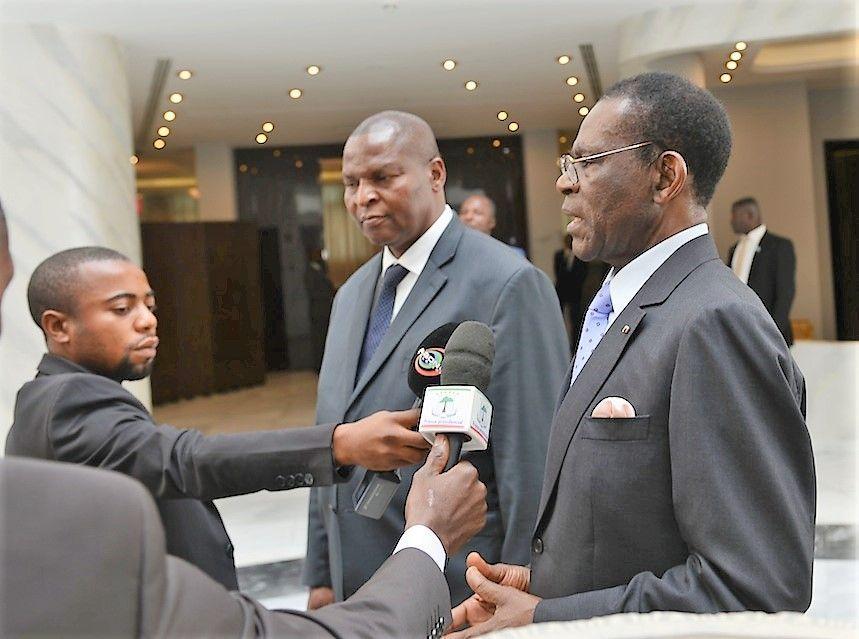 El Presidente de la República Centroafricana concluye su visita a Guinea Ecuatorial