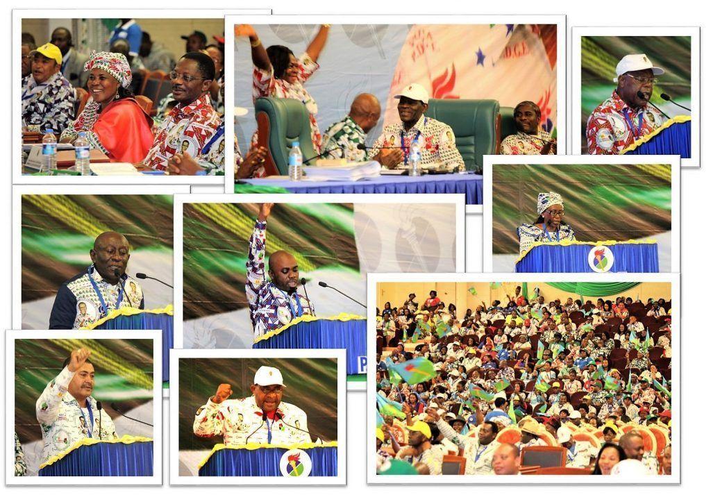 Todos los consejos distritales lanzaron su mensaje en la segunda jornada del VI Congreso Nacional Ordinario
