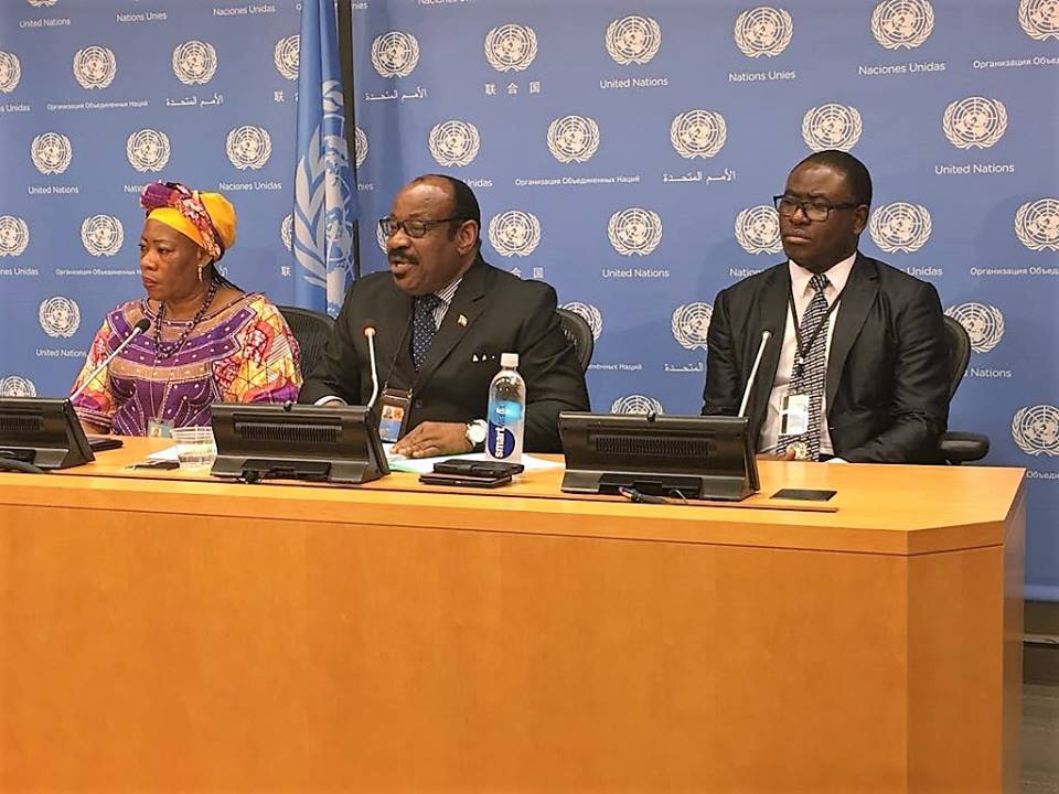 Intensa actividad diplomática para denunciar, ante la ONU y la UA, la mascarada judicial francesa contra el Vicepresidente de la República