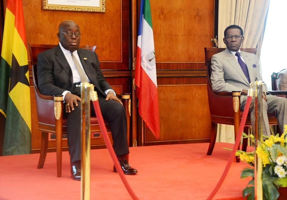 Regreso de la delegación de Ghana a su país
