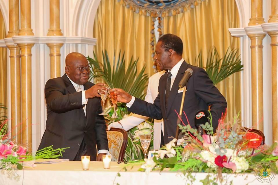 Reuniones y cena con la delegación de Ghana