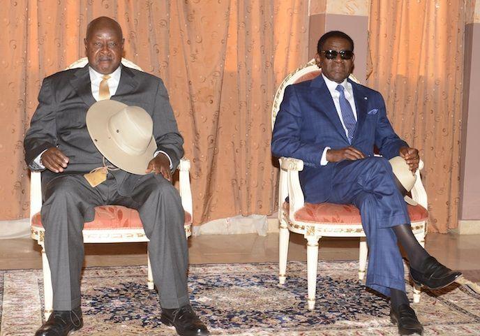 La misión ugandesa llega a Mongomo
